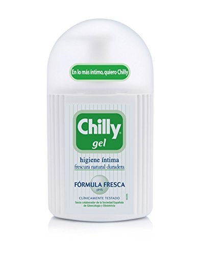 Chilly Fresh Gel Intimo Set Gel d'Hygiène Intime + Lingettes Intimes 250 ml de Chilly