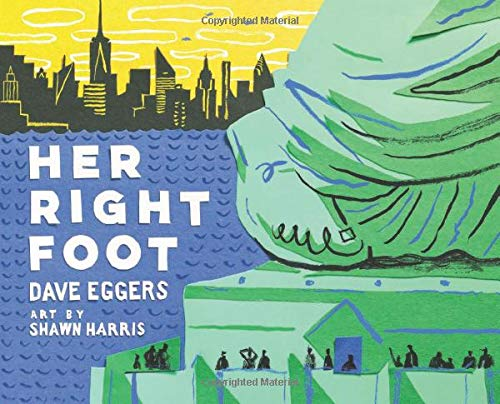 Her right foot de Chronicle Books