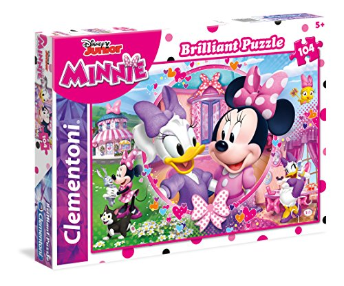 Clementoni - 20145 - Brilliant Puzzle - Minnie Happy Helpers - 104 Pièces - Disney de Clementoni