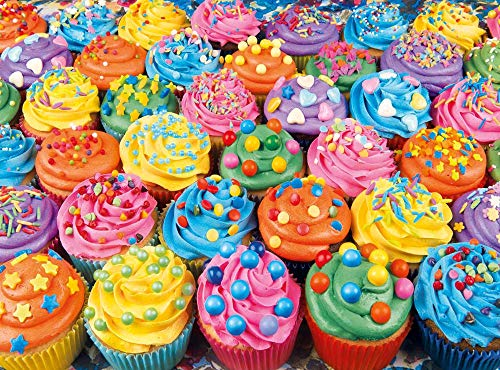 Clementoni - 35057 - High Quality Collection Puzzle - Cupcakes Colorés - 500 Pièces de Clementoni
