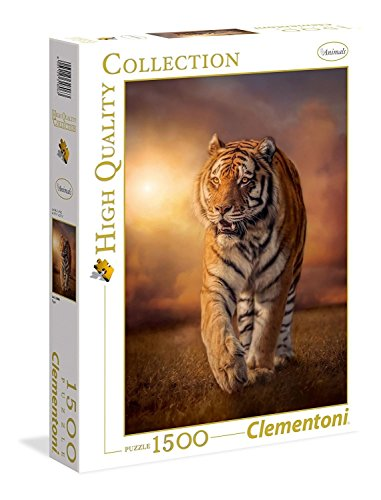 Clementoni - 31806 - High Quality Collection Puzzle - Tiger - 1500 Pièces de Clementoni