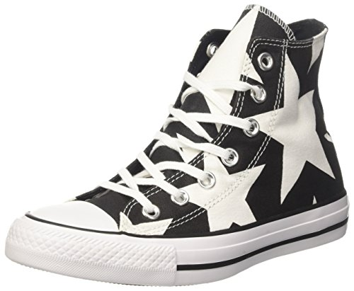 Converse 160108 Chuck Taylor As High Street, Baskets Mixte Adulte, Noir (Black/Black/White C160108), 38 EU