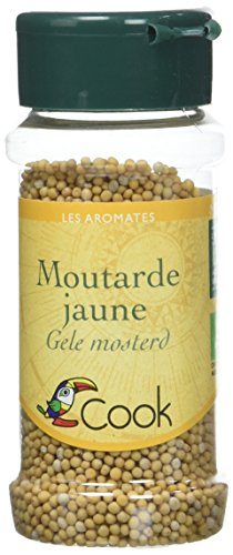 Cook Moutarde Jaune Grains Bio 60 g de Cook