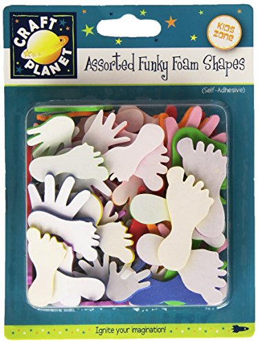 Craft Planet CPT 80509 Foam Shapes, Multicolore de Craft Planet