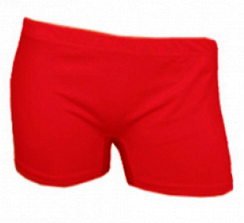 Girls Neon CHICK Short de gymnastique/le Tutu de danse Short Age : 5-12 ans - Rouge - 9 ans de Crazy Chick