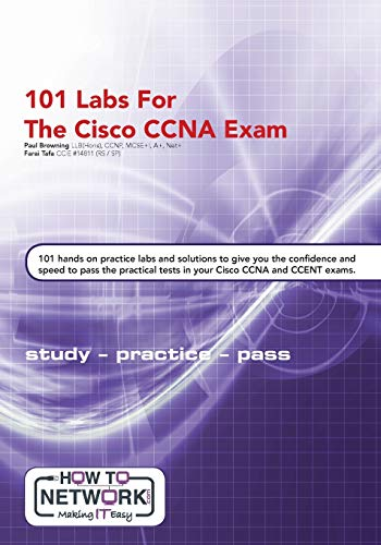 101 Labs for the Cisco CCNA Exam de CreateSpace Independent Publishing Platform