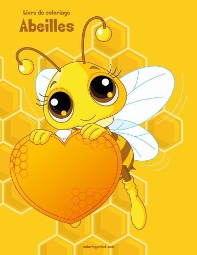 Livre de coloriage Abeilles 1 de CreateSpace Independent Publishing Platform