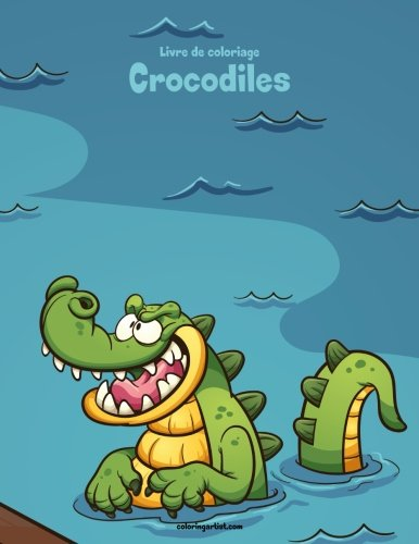Livre de coloriage Crocodiles 1 de CreateSpace Independent Publishing Platform