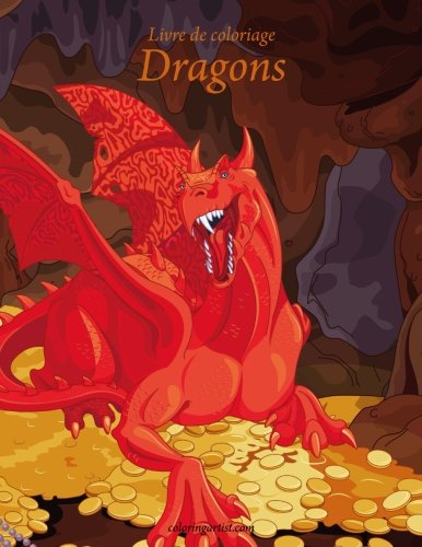 Livre de coloriage Dragons 1 & 2 de CreateSpace Independent Publishing Platform