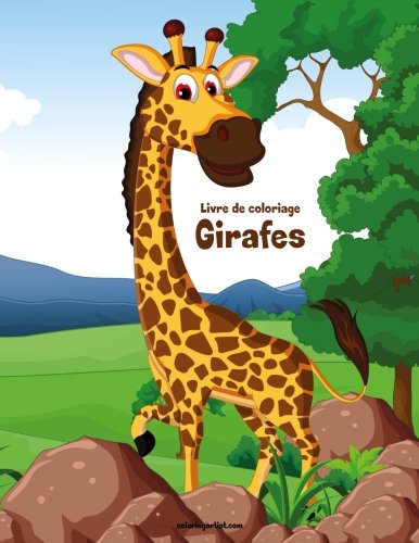 Livre de coloriage Girafes 1 de CreateSpace Independent Publishing Platform