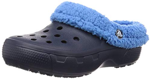2d005a5abc Crocs-Crocs-Mammoth-Core-Full-Collar-Kids,-Sabots-Mixte-Enfant-Bleu-Navy,Varsity-Blue-1873855973.jpg