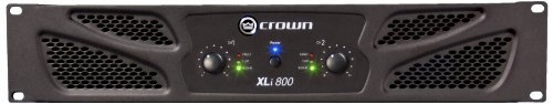 CROWN XLI800 Amplificateur 2 x 300 W sous 4 ohms - Noir de Crown