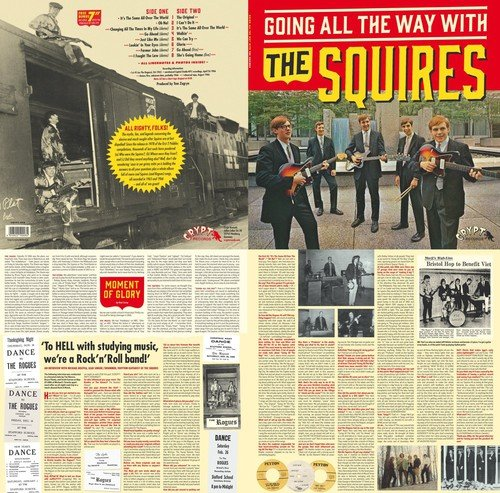 Going All the Way with the Squires [Import allemand] de Crypt Records