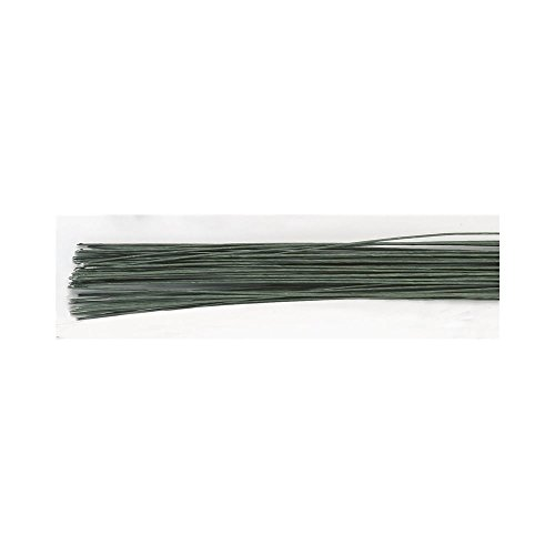 Floral Wire - Dark Green 30 Gauge - Pack of 50 de Culpitt