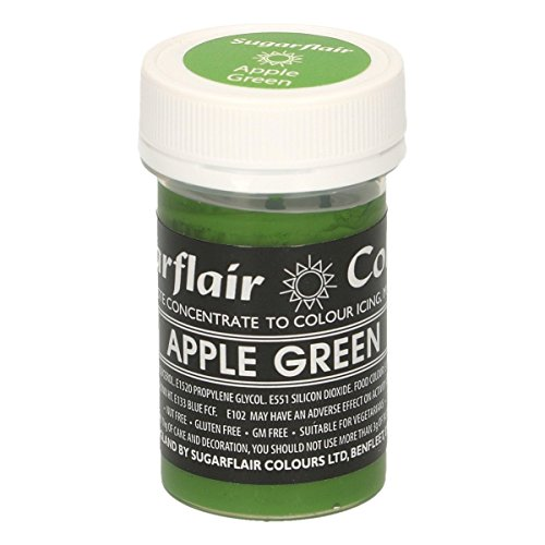 Sugarflair Paste Colour - Pastel Apple Green 25g de Culpitt