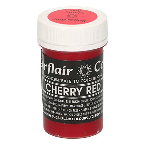 Sugarflair Paste Colour - Pastel Cherry Red 25g de Culpitt