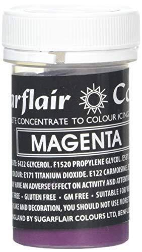 Sugarflair Paste Colour - Pastel Magenta 25g de Culpitt