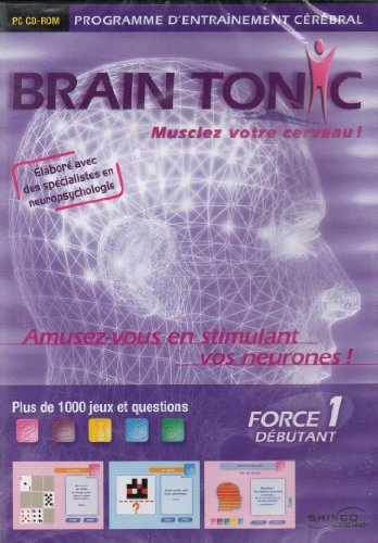 Brain Tonic Force 1 (débutant) de Culture plus