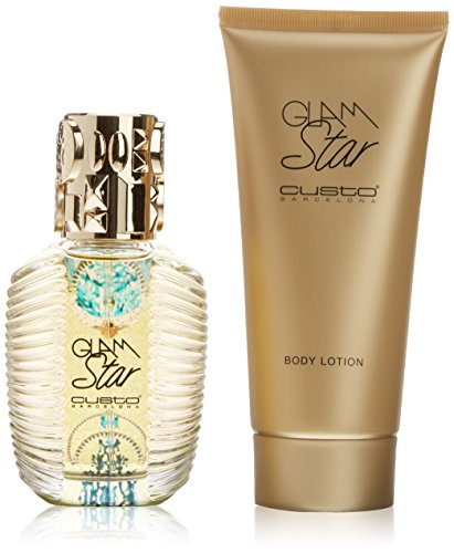 Custo Barcelona Custo Glam Star eau de toilette 100ml + Lait Hydratant Parfume pour le Corps 200ml de Custo