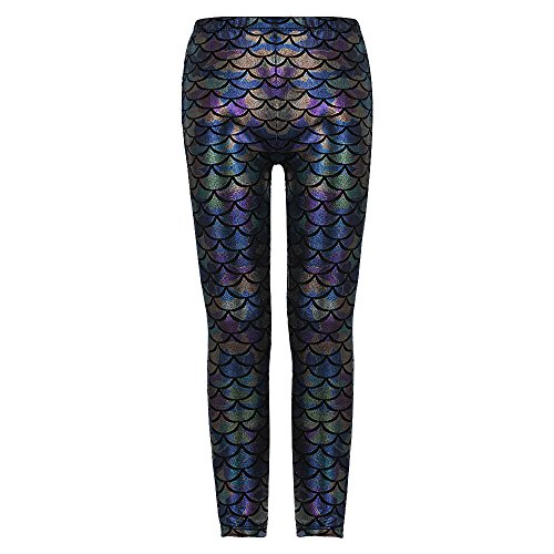 """Mode mignon Enfants Filles Leggings Pantalon (150(10-11Y), Multicolor)"" de DAXIANG"