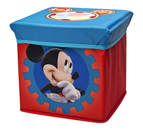 Delta Children Pouf de Rangement Pliable Motif Mickey de DELTA CHILDREN