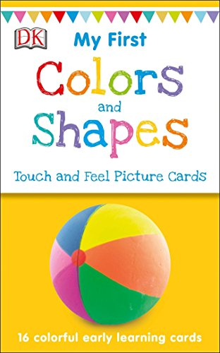 My First Touch and Feel Picture Cards: Colors and Shapes de DK Children