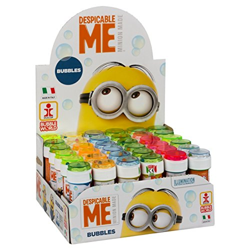 Despicable Me ColorBaby Lot de 36 flacons à Bulles de Savon 60 ML Minions 36 unidades de Despicable Me