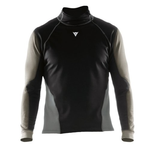 Dainese 1915830 Map WS Maillot Thermique, Noir/Anthracite/Gris, Taille : XS de Dainese
