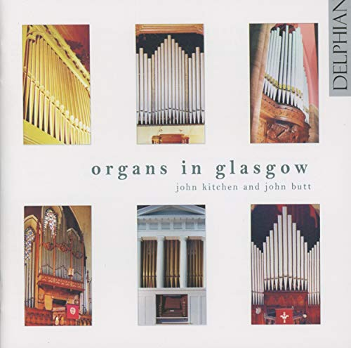 Organs in Glasgow de Delphian Records