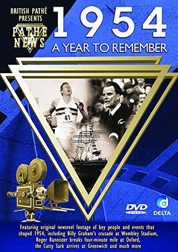 British Pathé News - A Year To Remember 1954 [Import anglais] de Delta Home Entertainment