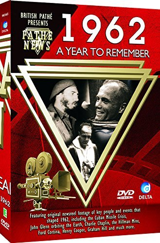 British Pathé News - A Year To Remember 1962 [DVD] [Import anglais] de Delta Home Entertainment