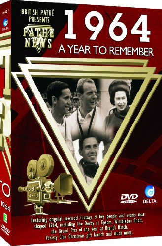 British Pathé News - A Year To Remember 1964 [DVD] [Import anglais] de Delta Home Entertainment