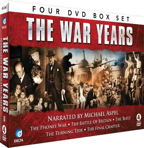 The War Years - Narrated by Michael Aspel [DVD] [Import anglais] de Delta Home Entertainment