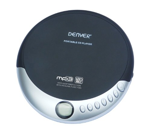 Denver DMP-389 Lecteur CD Portable de Denver