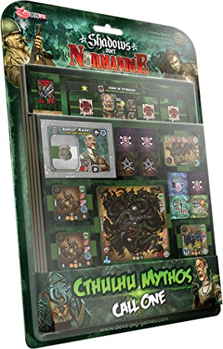 Asmodee - DPCM01  - Shadows Over Normandie - Cthulhu Mythos Set - Call One de Asmodee