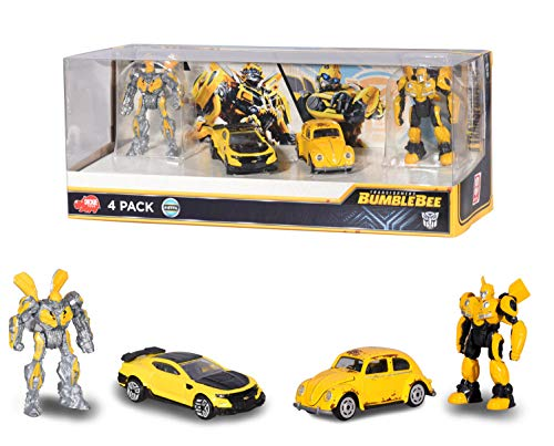 Dickie Toys - 203113020 - Transformers 6 - Giftpack 4 Pièces - Figurine Articulée - Echelle 1/64 ème de Smoby / Dickie Toys