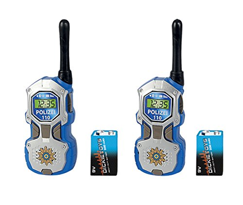 Dickie Toys - 201118181 - Talkies Walkies - Police de Dickies