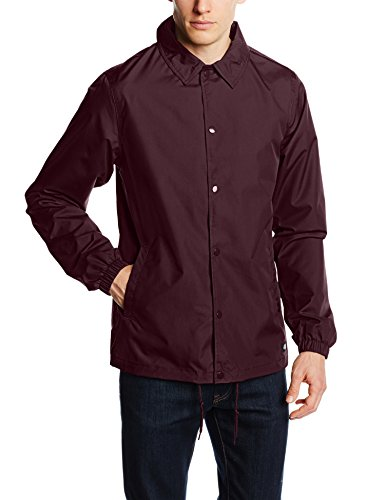 Dickies Torrance - Manteau imperméable - Manches longues - Homme - Rouge (Maroon) - Medium (Taille fabricant: Medium) de Dickies