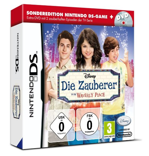 Die Zauberer vom Waverly Place (Sonderedition Game + DVD) [import allemand] de Disney