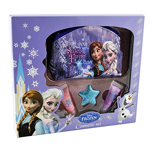 Disney Coffret Cadeau Beauté Frozen la Reine des Neiges Travel Set de Disney