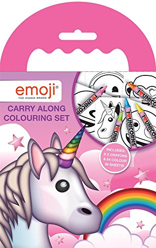 Disney Emoji Unicorn Set DE COLORIAGE A EMPORTER, EUCAR de Disney