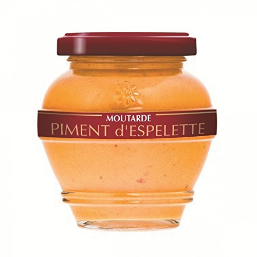 Moutarde au Piment d'Espelette 200g de Distillerie des Terres Rouges