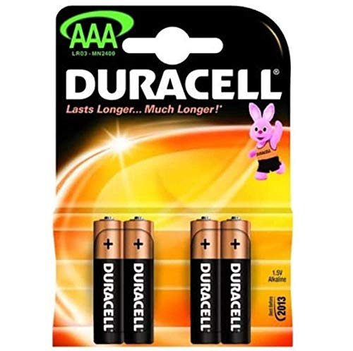 Duracell Plus AAA Batteries Pack of 4 de Duracell