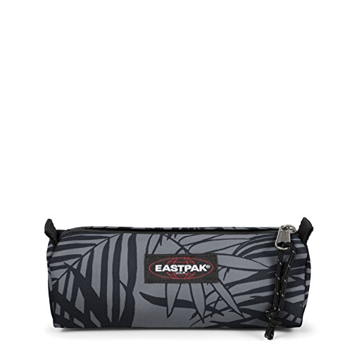 Eastpak Benchmark Single Trousse, 21 cm, Noir (Leaves Black) de Eastpak