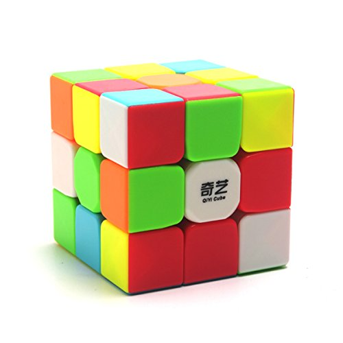 EasyGame Qiyi Guerrier W 3x3x3 Speed Cube Autocollant Magic Cube Autocollant (6 Couleurs) de EasyGame