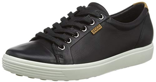 Ecco  ECCO SOFT 7 LADIES, Derbies à lacets femmes - Noir - Noir,  38 EU (5 UK) de Ecco
