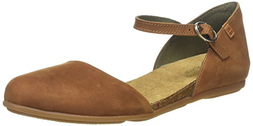 S.A N412 Pleasant Wakataua, Closed-Toe Femme, Marron (Wood), 41 EUEl Naturalista