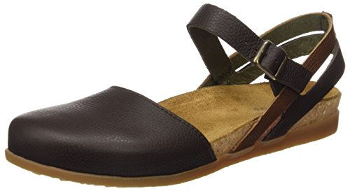 S.A N412 Pleasant Wakataua, Closed-Toe Femme, Noir (Black), 38 EUEl Naturalista