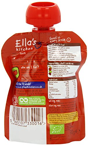 Ella's Kitchen - Smoothies - The Red One - 90g de Ella's Kitchen