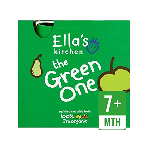 Ella'S Kitchen | The Green One - Smoothie Fruit | 5 X 90G de Ella's